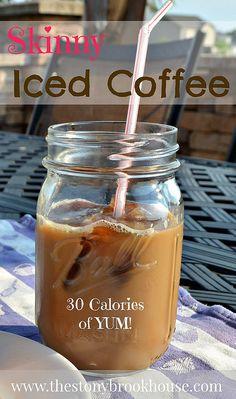 Skinny Iced Coffee by thestonybrookhouse blog