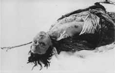 Zoya Kosmodemyanskaya was a Russian resistance fighter.  She was caught, tortured but refused to give any information, including her real name.  She was hung and then stripped to the waist to further humiliate her.  She laid in the snow for a month while Germans mutilated her body before she was finally buried.  She was 18 years old.