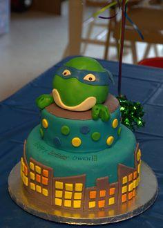 Birthday Cake Photos - Teenage Mutant Ninja Turtle