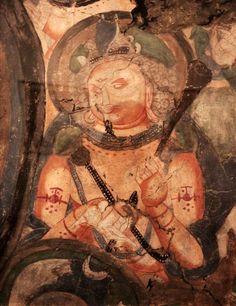Doğu Türkistan, Karahoca, Türk Uygur Budist Freskler