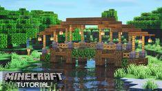 Minecraft Projects, Minecraft Designs, Minecraft Furniture, Cute Minecraft Houses, Minecraft Stuff, Minecraft Bridges, Different House Styles, Minecraft Construction, Iphone App Design