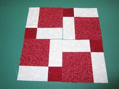 My Patchwork Quilt: FROM A NINE PATCH TO A.....