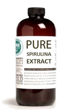 Raw Spirulina Extract. Alcohol free, Vegan, GMO, and gluten free! WHOLE BODY SUPPORT: Helps lower cholesterol, increases iron absorption, speeds metabolism and the healing process, and helps prevent c