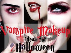 Sexy Vampire makeup ideas for Halloween