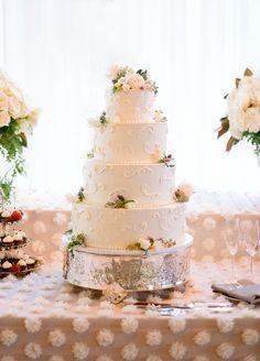 Photography: Lacie Hansen - laciehansen.com Cake: Decadence Wedding Cakes - www.decadenceweddingcakes.com Reception Venue: Dos Pueblos Ranch - triciafountainedesign.com   Read More on SMP: http://stylemepretty.com/vault/gallery/28479