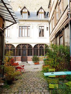 Cité de la Roquette, Paris 11e.
