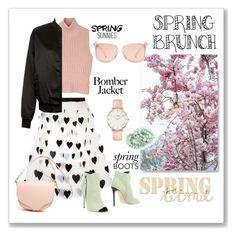 """""""Spring brunch"""" by ceridwen86 ❤ liked on Polyvore featuring Alice + Olivia, Diesel Black Gold, CLUSE, Cameo Rose, Michael Kors and Grey Mer"""