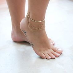 Beautiful Boho Anklets Perfect For The Beach Love the blue