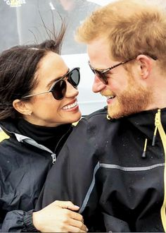 HRH The Duke & Duchess of Sussex. — hrh-theduchessofsussex: ♡♡