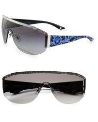 cd1368243b Versace Metal Shield Sunglasses - Lyst Gafas De Sol De Versace, Gafas De Sol  De