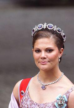 Crown Princess Victoria of Sweden; wedding of Princess Märtha Louise of Norway and mr. Ari Behn, May 24th 2002