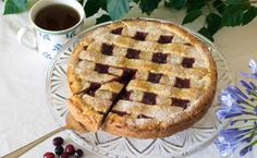 Another Linzer Torte. Recipe in German.