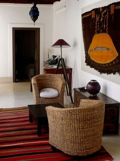 Oliver's Riad - via @Apartment Therapy