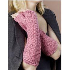 Free Fingerless Gloves Knit Pattern - Free Patterns - Books & Patterns