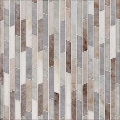 Talya Multi Finish 8 13/16x 14 5/16 Rhodes Pa Al Av Marble Waterjet Mosaics - Country Floors of America LLC.