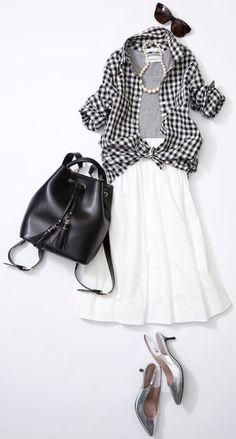 Spring Look Picture Description Fashion Mode, Look Fashion, Spring Fashion, Fashion Outfits, Womens Fashion, Fashion Trends, Fashion Tips, Japanese Fashion, Korean Fashion
