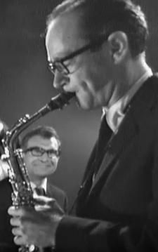 Mosaic Records - Paul Desmond and Dave Brubeck (in rear)