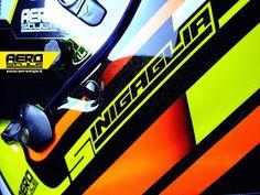 Racing Helmets Garage: Arai SK-6 Sinigaglia 2014 by Aerostyle Aerografie