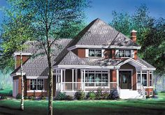 House Plan 49736 | Traditional Plan with 2888 Sq. Ft., 3 Bedrooms, 3 Bathrooms, 3 Car Garage