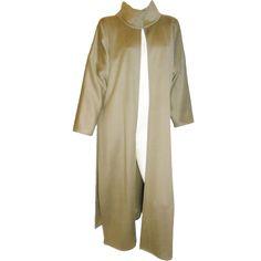1stdibs   Zoran long angora duster jacket