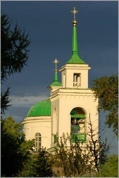 Собор Троицы Живоначальной в Красноярске  Krasnoyarskiy kray  Krasnoyarsk