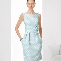 Kurzes, getupftes Piqué-Kleid (c) Rosa Clara