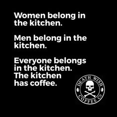 Let's all go to the kitchen and get more coffee!