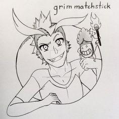 Grim Matchstick by Calibriatheskeleton