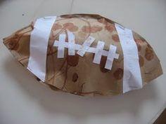Paperbag Football Craft