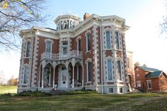 The historic Guthrie Mansion, Tunnelton, Indiana