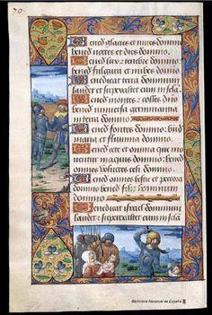 La matanza de los inocentes - Libro de horas de Carlos V. Manuscrito — 1501-1600? Biblioteca Nacional de España