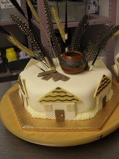 Nigerian Wedding Traditional Engagement Wedding Cake For