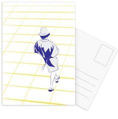 Who's That - Marcell Naubert - Postkartenset