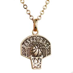 basketball jewelry on sale at reasonable prices, buy Sport Pendant Necklace Basketball Hoop Charm Necklace Personalized Basketball Necklace Women Basketball Jewelry from mobile site on Aliexpress Now! Basketball Mom, Basketball Necklace, Basketball Quotes, Basketball Clipart, Basketball Videos, Basketball Birthday, Women's Basketball, Sport, Personalized Basketball