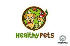 Logo Animais de Estimação Saudáveis - APLICAÇÕES SUPORTADAS  Adobe Illustrator, Adobe Photoshop  TIPOS DE ARQUIVO  AI, EPS, PSD - IA Produtos