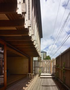 West End House von Richard Kirk Architect in Brisbane, Australien Wood Architecture, Australian Architecture, Architecture Awards, Residential Architecture, Brisbane, Base Building, Futuristic Home, Timber Structure, Built Environment