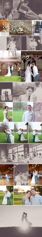 Gallas Wedding at Hickory Ridge Golf Resort. Golf coarse wedding ideas!