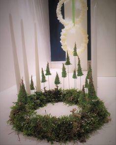 Vianoce, vianočná výzdoba, vianočné dekorácie, advent / Christmas, christmas home decoration - Inšpirácie Woodland Christmas, 1st Christmas, Christmas Crafts, Christmas Ideas, Decoration Christmas, Xmas Decorations, Holiday Decor, Rustic Candles, Xmas Wreaths