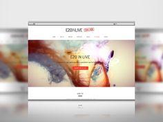 È online il sito ufficiale di E20 in live firmato Tuttositiweb. Visita il sito www.eventiinlive.it #streaming