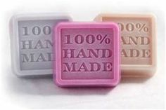 "100% Hand Made    $35.0 Size: 2.10"" Cavity Size: 1.85 oz.  You can add your own fragrance, color, add-in and soap base. www.Making-ScentsSoaps.com"