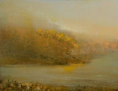 """Morning Mist"" oil on panel 11""x14"""