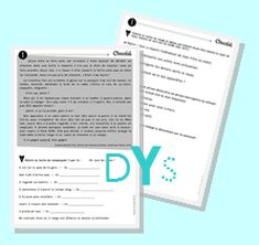 Fichier PICOT DYS CM1/CM2 School Organisation, Cycle 3, Teaching Schools, Teaching Ideas, Spelling, Montessori, Positivity, Teacher, Journal