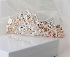 Find a special tiara for prom, your wedding, prom or any other special occasion. You'll find tiaras of all types here, and they're all sorted by style to help you find a tiara that suits your tastes. Unique Diamond Engagement Rings, Solitaire Engagement, Bridal Ring Sets, Fantasy Jewelry, Tiaras And Crowns, Gold Set, Bridal Jewelry, Stud Earrings, Princess Rings