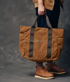 waxed bag