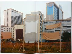 RAISE THE BAR - Taiyo Onorato & Nico Krebs   The « Building Berlin / Constructions » Series was photographed in Berlin's empty lots between 2009 and 2012 on 8x10 Inch Negative Material. The stills are from «Blockbuster», a 5mn, 16mm Black and White Film, made in  Berlin 2012, starring Patrick Holderness, Camera Berbank-Green.