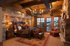 Rustic Bedroom, Love it!!