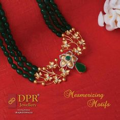 9 Easy And Cheap Diy Ideas: Pearl Jewelry Indian jewelry unique gems. Gold Jewellery Design, Bead Jewellery, Pearl Jewelry, Pendant Jewelry, Bridal Jewelry, Gold Jewelry, Beaded Jewelry, Diamond Jewelry, Jewellery Display