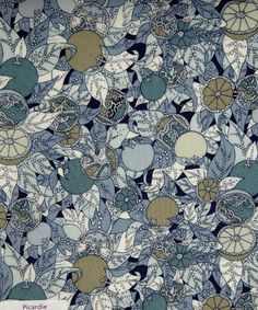 Liberty spring collection -- love the colors (much more than the design itself, I think)
