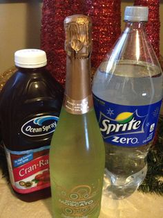 Poinsettia Punch Recipe. This was good I didn't mix them all together I just made me one beverage at a time. And it was delicous. Will drink again and again.