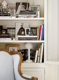 Styling inspo for built ins Coffee Table Design, Home Interior, Interior Design, Bookshelf Styling, Bookshelf Decorating, Decorating Ideas, Saint Laurent, Atlanta Homes, Love Home